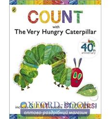 Count with The Very Hungry Caterpillar Sticker Book Eric Carle  9780141501963 купить Киев Украина