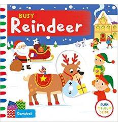Книга с движущимися элементами Busy Reindeer ISBN 9781529004922
