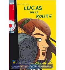 Lire en francais Facile b1 Lucas sur la Route + CD audio купить Киев Украина