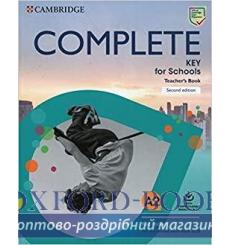 Книга для учителя Complete Key for Schools Teachers Book with Downloadable Resource Pack Rod Fricker 3rd Edition 978110853941...