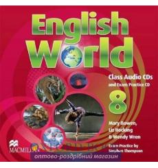English World 8 Class Audio CD(3)