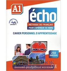 Echo Pour lamerique du Nord a1 Cahier Personnel dapprentissage + CD audio 9782090385106 купить Киев Украина