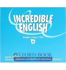 Книга Incredible English 6 Class Audio CD(4) ISBN 9780194440424 купить Киев Украина