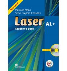 Учебник Laser A1+ Students Book with CD-ROM + Macmillan Practice Online ISBN 9780230470651
