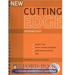 Книга для учителя Cutting Edge Interm New Teachers book+CD Pack ISBN 9781405843508 купить Киев Украина