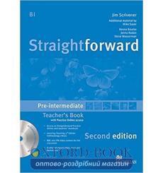 Книга для учителя Straightforward Second Edition Pre-Intermediate Teachers Book with CD-ROM and Practice Online access купить...
