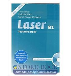 Книга для учителя Laser b1 Teachers Book + eBook Pack 3rd Edition 9781786327192 купить Киев Украина