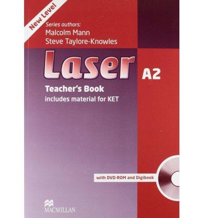 Laser (3rd Edition) A2 Teacher's Book + DVD-ROM Pack