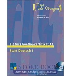Книга Fit furs Goethe-Zertifikat a1: Start Deutsch 1 mit Audio-CD 9783190018727 купить Киев Украина