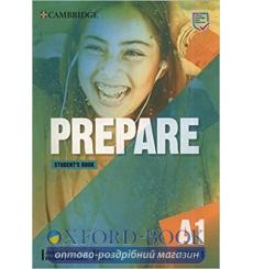Книга Cambridge English Prepare! 1 students book Joanna Kosta  3rd Edition 9781108433273 купить Киев Украина