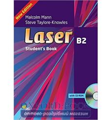 Учебник Laser 3rd Edition B2 Students Book + eBook Pack + MPO ISBN 9781380000224 купить Киев Украина