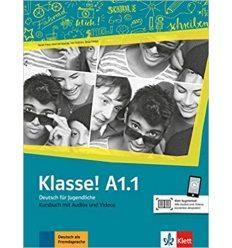 Учебник Klasse a1.1 Kursbuch 9783126071215