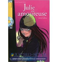 Lire en francais Facile a2 Julie est Amoureuse + CD audio 9782011554970 купить Киев Украина