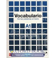 Книга Vocabulario a1: De las palabras al texto con CD audio 9788467521672
