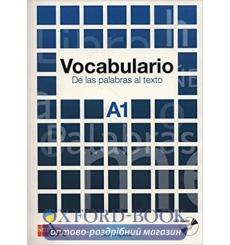 Книга Vocabulario a1: De las palabras al texto con CD audio 9788467521672 купить Киев Украина