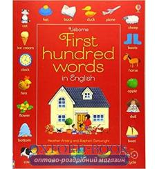 First Hundred Words in English Heather Amery, Stephen Cartwright 9781409596905 купить Киев Украина