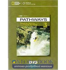 Pathways 3: Reading, Writing and Critical Thinking DVD 9781133317371 купить Киев Украина