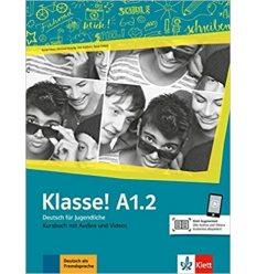 Учебник Klasse a1.2 Kursbuch 9783126071222