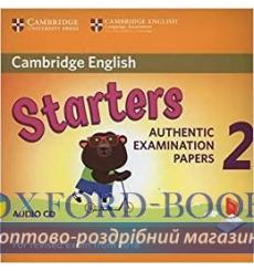 Cambridge English YLE Starters 2 for Revised Exam 2018 Audio CD ISBN 9781316636299 купить Киев Украина