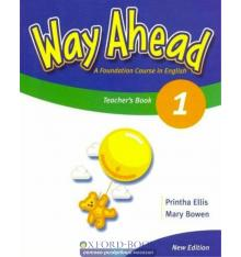 Книга для учителя Way Ahead New 1 teachers book ISBN 9781405058575