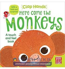 Книга Clap Hands: Here Come the Monkeys  Hilli Kushnir 9781526380081 купить Киев Украина