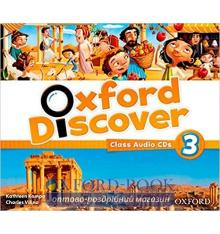 Диски для класса Oxford Discover 3 Class Audio CDs ISBN 9780194279017