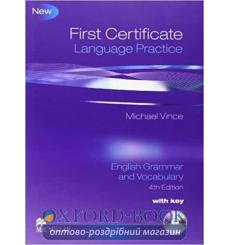 Книга First Certificate Language Practice 4th Edition — English Grammar and Vocabulary with key and CD-ROM Michael Vince купи...
