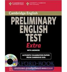 Учебник Cambridge English Preliminary Extra Students Book with answers and CD-ROM 9780521676687 купить Киев Украина