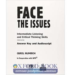 Face the Issues: Intermediate Listening and Critical Thinking Skills 9780131992191 купить Киев Украина