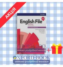 Учебник English File 4th Edition Elementary Students Book with Students Resource Centre ISBN 9780194031592