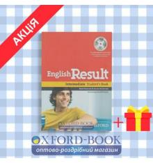 Учебник english result intermediate Students Book with DVD ISBN 9780194129565