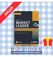 Учебник  Market Leader 3rd Edition Elementary Coursebook with DVD-ROM and MyEnglishLab ISBN 9781447922261