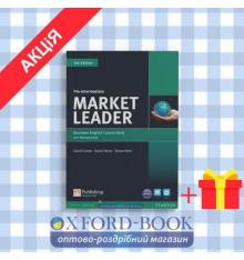 Учебник  Market Leader 3rd Edition Pre-Intermediate Coursebook with DVD-ROM and MyEnglishLab ISBN 9781447922285