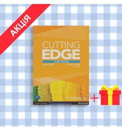 Учебник Cutting Edge Intermediate students book with DVD-ROM (Class Audio+Video DVD)  3rd Edition 9781447936879 купить Киев У...