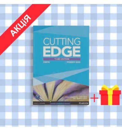 Учебник Cutting Edge 3rd Edition Starter Students Book with DVD-ROM (Class Audio+Video DVD) ISBN 9781447936947