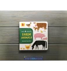 Книга Mix and Match: Farm Animals Rachael Saunders 9781406381290 купить Киев Украина
