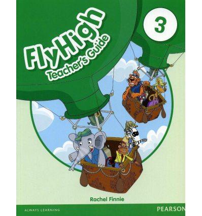 Книга для учителя Fly High 3 teachers book 9781408234075 купить Киев Украина