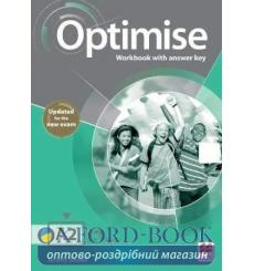 Тетрадь Optimise a2 workbook with key (Updated for the New Exam) Jeremy Bowell 9781380031907 купить Киев Украина