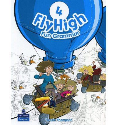 Fly High 4: Fun Grammar Pupils Book with CD