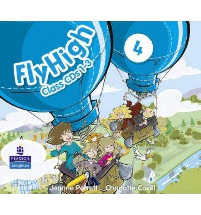 Fly High 4: Class CDs 9781408234112 купить Киев Украина