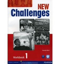 Тетрадь Challenges New 1 workbook with Audio CD 9781408284421 купить Киев Украина