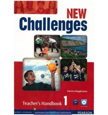 Книга New Challenges 1: Teachers Book with Multi-ROM ISBN 9781408288900