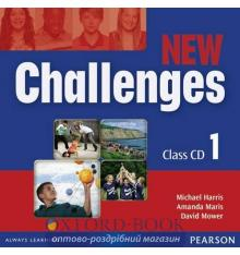 Диск Challenges New 1 Class Audio CDs ISBN 9781408258514
