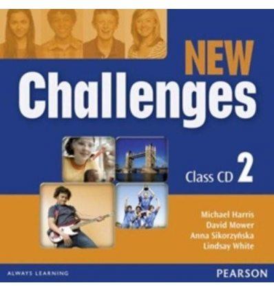 New Challenges 2: Class CDs