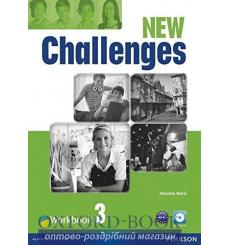 Тетрадь Challenges New 3 workbook with Audio CD 9781408298435 купить Киев Украина