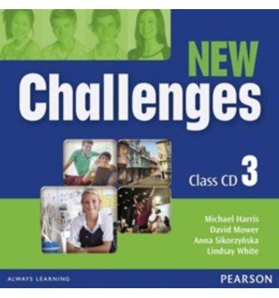 New Challenges 3: Class CDs