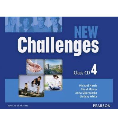 New Challenges 4: Class CDs