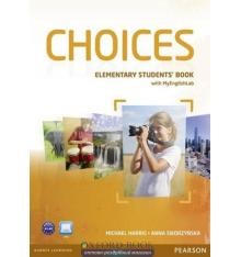 Учебник Choices Elementary Students Book and MyLab PIN Code Pack ISBN 9781447928812