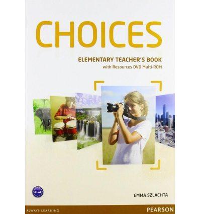 Choices Elementary: Teacher's Book with Multi-ROM