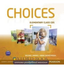 Диски для класса Choices Elementary: Class Audio CDs ISBN 9781408242445